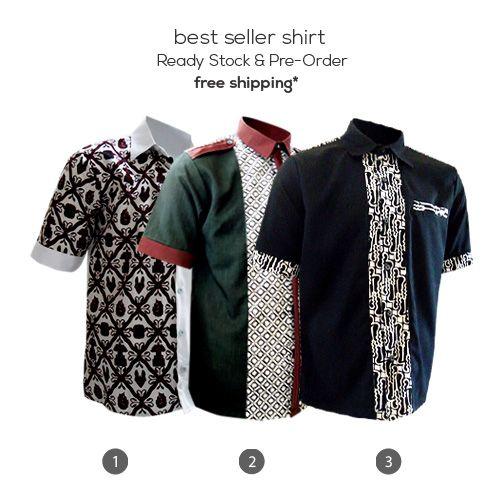 BEST SELLER SHIRT  Free shipping for Pre-Order Plus Disc. 10% for Ready Stock  #kemejabatikmedogh #bestseller #kemejacasual #batikcap #batikparang #sidoluhur #batiktruntum #batikyogyakarta #freeshipping #preorder  http://medogh.com/baju-batik-pria/kemeja-batik-pria