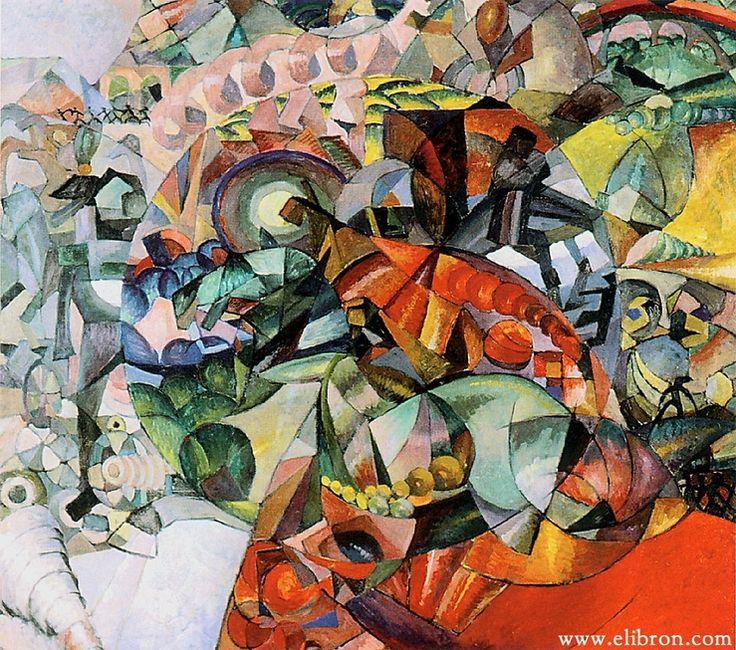 Аристарх Лентулов-его живопись это праздник, красочный фейерверк, щедрое излияние любви к жизни. | Волшебная сила искусства. Аристарх Лентулов. Аллегорическое изображение Отечественной войны 1812 года.