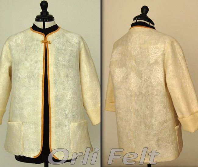 https://flic.kr/p/tkc5C3   Felted white jacket