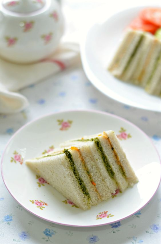 Fuss free delicious Ribbon sandwiches, best for your Tea parties or Kids birthday parties. Choose any topping you like.