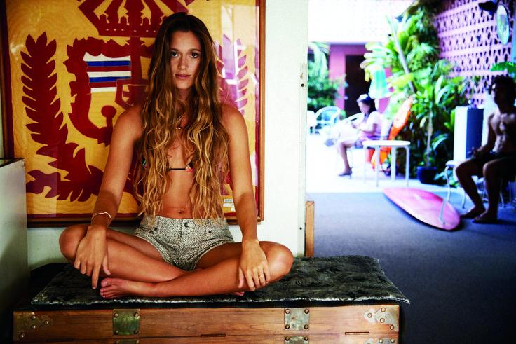 Съемка для бренда ROXY. Одежда для серфинга и отдыха  #gadsclub #серфинг #съемка #пляж #доска #девушка