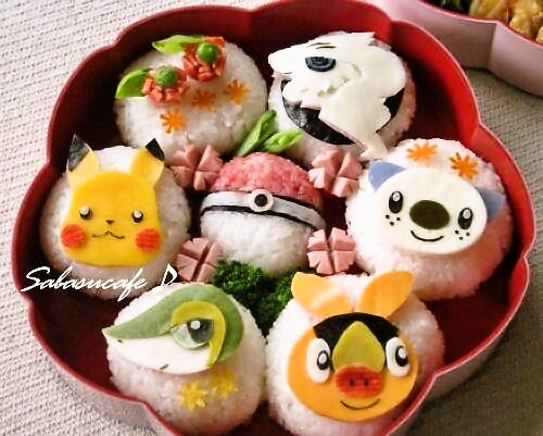 351 best images about bento on pinterest cute bento for Pokemon cuisine