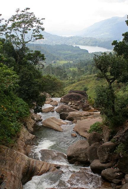 Nuwara Eliya, Sri Lanka- This is the same river my (now) husband and I jumped down rock by rock <3