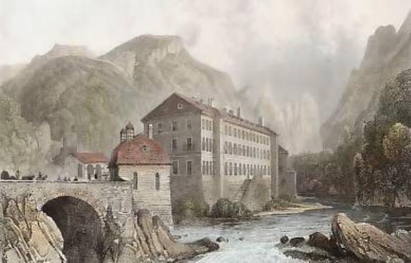 Baile Herculane - 1835