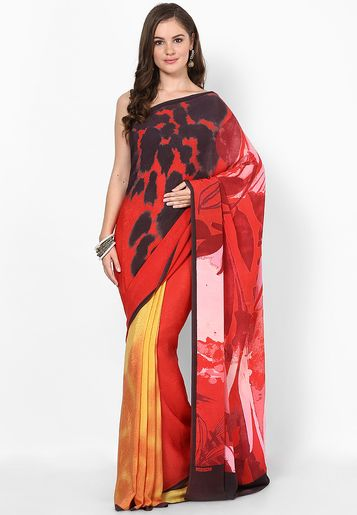 Satya Paul http://static14.jassets.com/p/Satya-Paul-Multi-Printed-Saree-8208-790317-1-gallery2.jpg