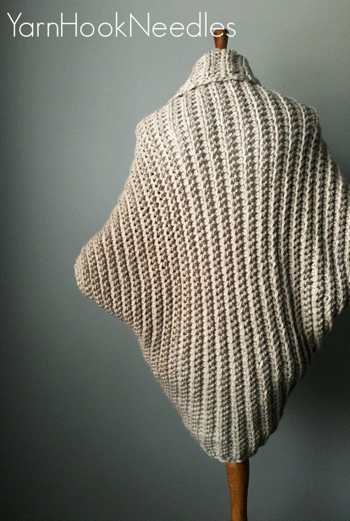 Chunky Crochet Shrug with FREE Pattern Link! – YHN | Yarn|Hook|Needles