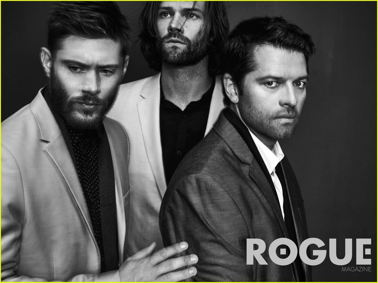 Supernatural's Jared Padalecki, Jensen Ackles, & Misha Collins Do First…