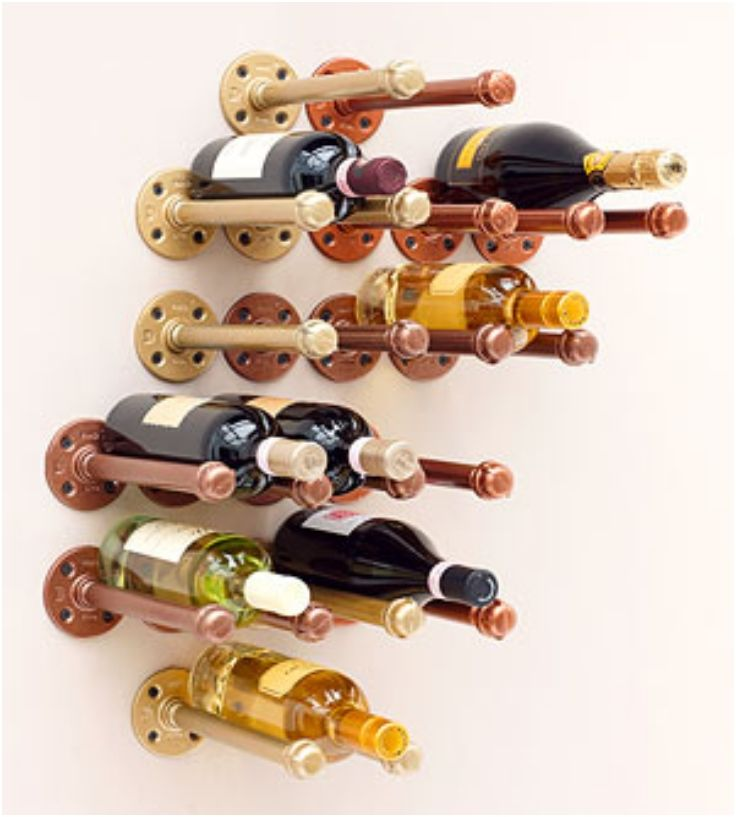 Top 10 Bastidores de vino elegante de DIY