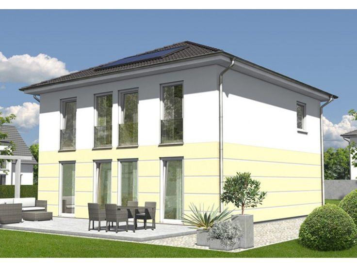 stadtvilla 145 einfamilienhaus von town country haus lizenzgeber gmbh hausxxl stadtvilla. Black Bedroom Furniture Sets. Home Design Ideas