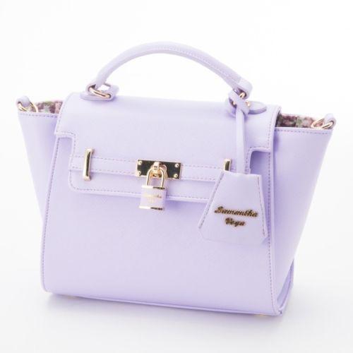 9dbad4f633ba Samantha-Thavasa-Vega-Padlock-Pastel-Color-Small-Handbag-Shoulder-Pink-Mint   smallhandbags