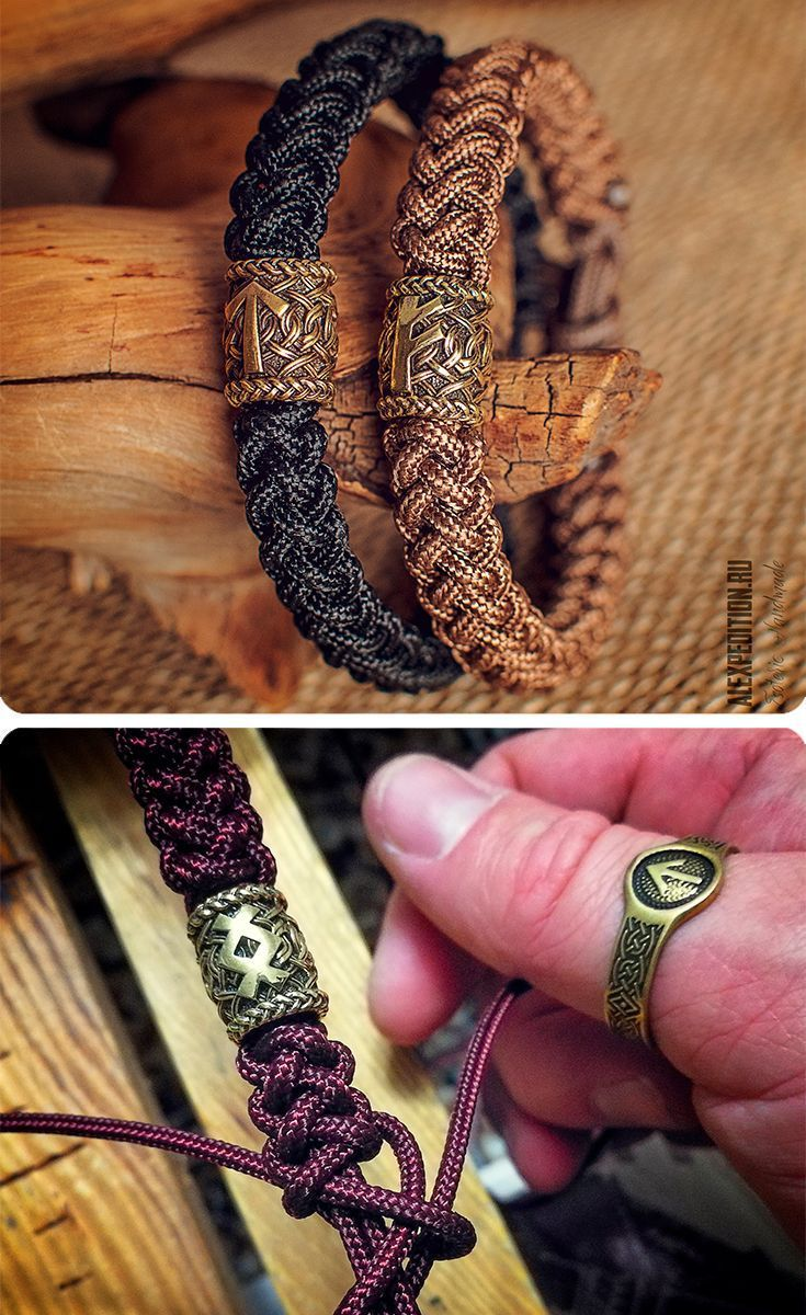 Rune of Destiny – Paracord-Armband mit exklusiver Runic-Perle – jewellery