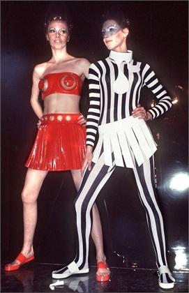 1970 - Pierre Cardin dresses
