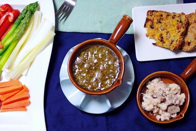 【クリスマスレシピ】ほんっとに簡単!野菜がいっぱい食べられるバーニャカウダ。