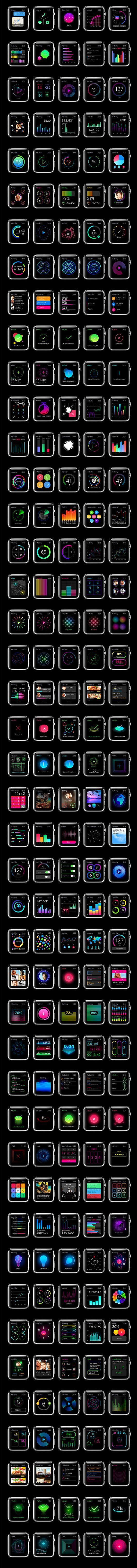 Apple Watch UI Kit | + Enahnce your #MacBook / #iMac experience , visit: http://pdsp.us/macbookcleanse: