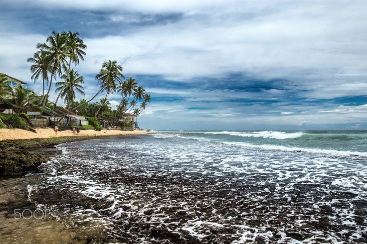 Coast of the Indian Ocean - Hikkaduwa, Sri Lanka