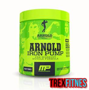 http://trexfitnes.com/arnold-iron-pump.html .....Dengan membawa nama legenda Arnold, Iron Pump menjadi preworkout yang sangat rekomendasi untuk anda coba....