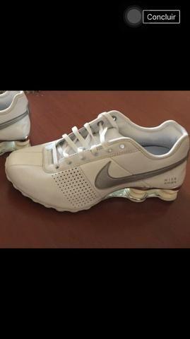 Tenis Nike Shox Branco tamanho 37