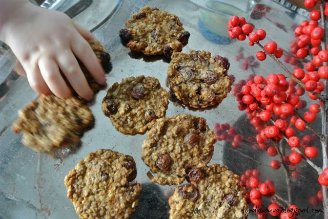 Foodie-vauva: Joulunodottajan mausteiset kaurakeksit, 8 kk+