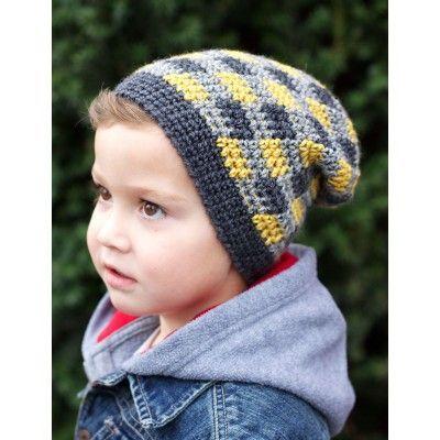Free Intermediate Child's Hat Crochet Pattern
