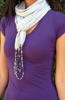 European--Scarf Necklace (2 of 5)