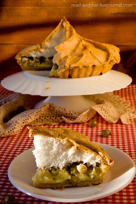 Еда в литературе: Пирог с крыжовником, меренгой и заварным кремом (Шарлотта Бронте. «Джен Эйр»)