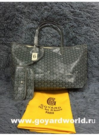 Goyard Saint Louis GM Bag Dark Grey