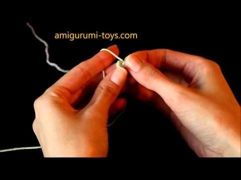 Видео- и фотоурок №4. Как делать волшебное кольцо амигуруми. Часть 1. | Амигуруми — схемы, амигуруми крючком, вязание и игрушки амигуруми. Амигуруми всех стран!