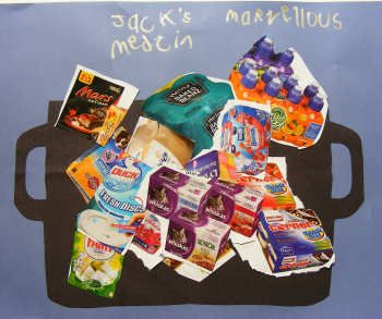 George's Marvellous Medicine Collage