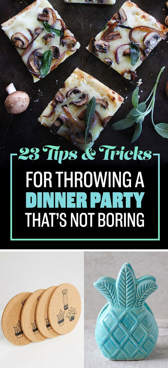 23 Ways To Throw An Almost-Grownup Dinner Party
