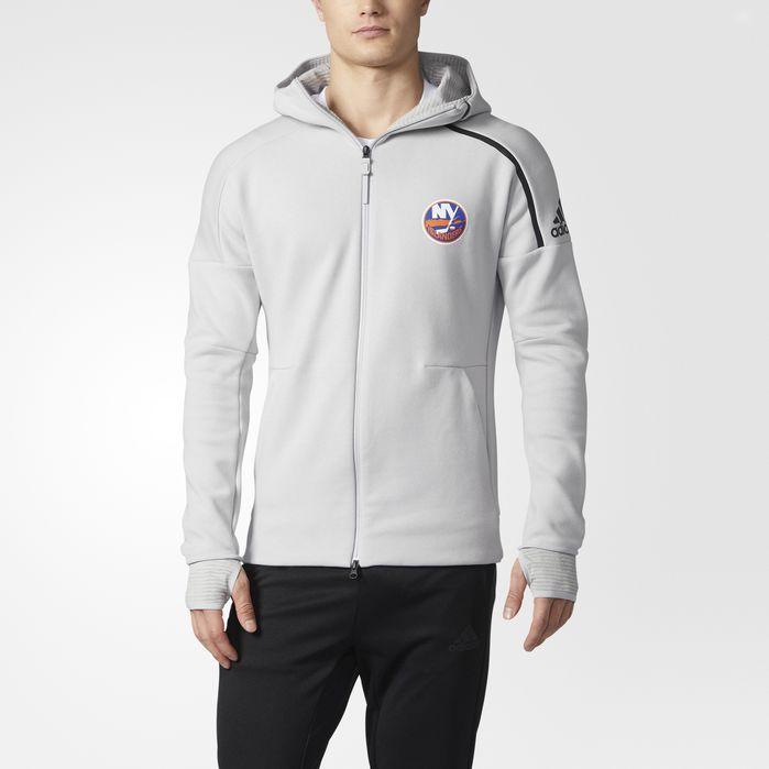 adidas Islanders adidas Z.N.E. Pulse Hoodie - Mens Hockey Hoodies & Sweatshirts