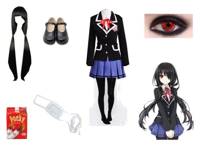 Yatogami Tohka School Uniform Dress by mayleneholm on Polyvore featuring ASOS and Kawasaki