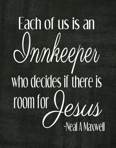 We are all Innkeepers
