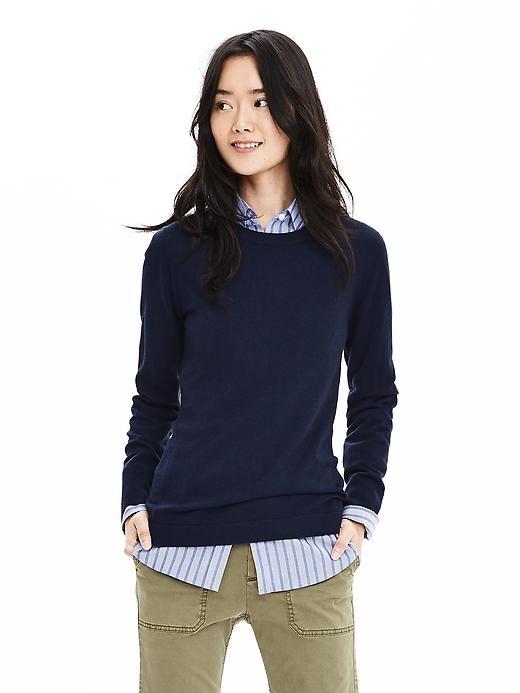 Extra-Fine Merino Wool Pullover Sweater | Banana Republic