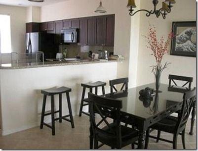 Decoraci n de sala comedor peque as casas pinterest for Decoracion de casas pequenas