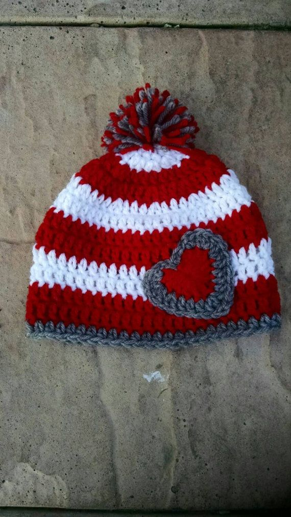 Cute valentines day hat !   https://www.etsy.com/listing/217509092/valentines-day-baby-hat