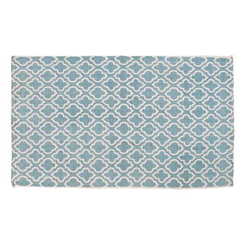 Vloerkleed Trellis blauw (120 x 180 cm) bij Loods 5 - € 60,00