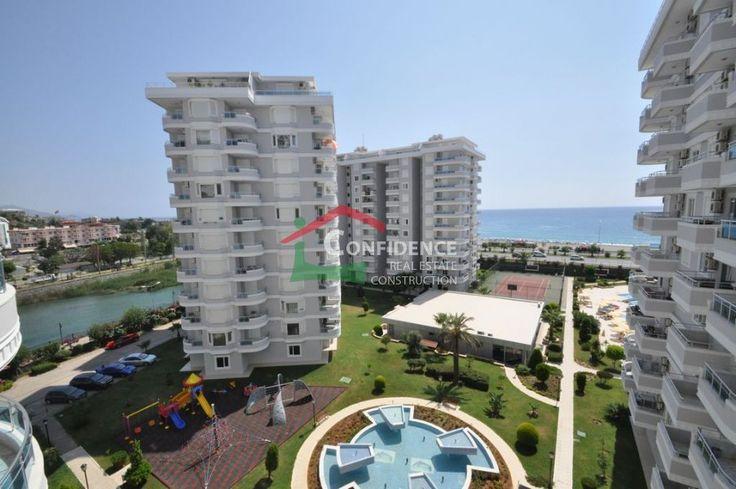 Просторная трехкомнатная квартира в VIP комплексе с открытыми видами на Средиземное море, горы, реку Dim. - Тосмур Недвижимость - Алания Недвижимость - Анталия - Турция