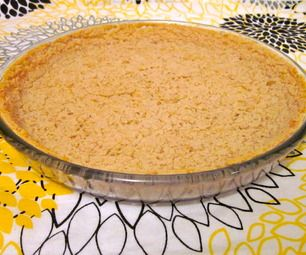 Healthy Pie Crust From Beans
