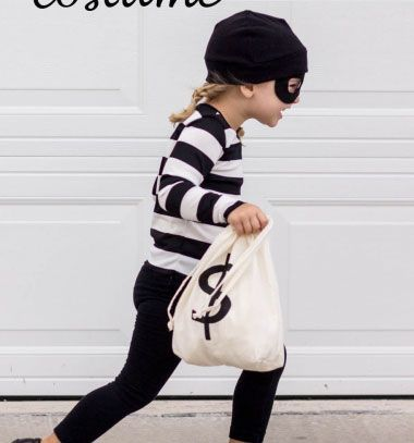 If you are still looking for some halloween/ dress up party costume ideas, she has a quick and easy costume you can whip up for a boy or girl of any age. With just a few quick sewing tutorials and some things you might already have on hand, you can put together this last minute little bandit costume! his costume requires ...