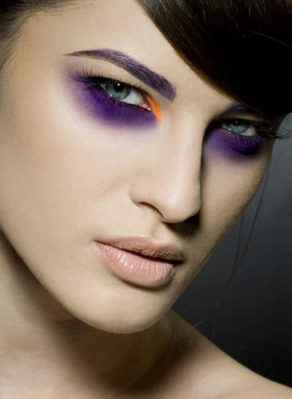 how to fix purple under eyes makeup