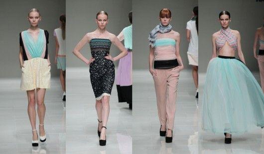 Mercedes-Benz Fashion Week Tokyo S/S 2014: Han Ahn Soon