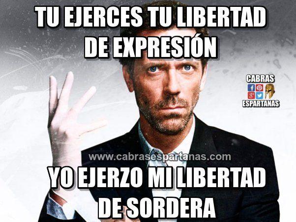 Libertad de expresión y libertad de no hacer caso