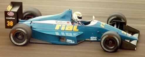 1989 Christian Danner, RIAL Racing Team, RIAL ARC2 Ford