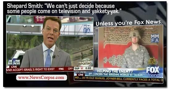 Did Fox News Bench Shepard Smith For Telling The Truth About Bowe Bergdahl?
