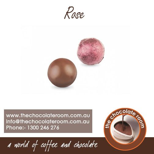 Lose yourself in the world of #caramel with the delicious #Rose #Chocolate.  For more updates,follow us at @chocolateroomau