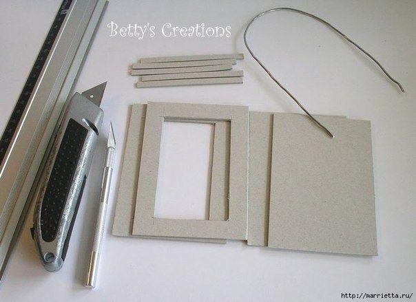 Materiales gráficos Gaby: Paso a paso farol de cartón                                                                                                                                                                                 Más