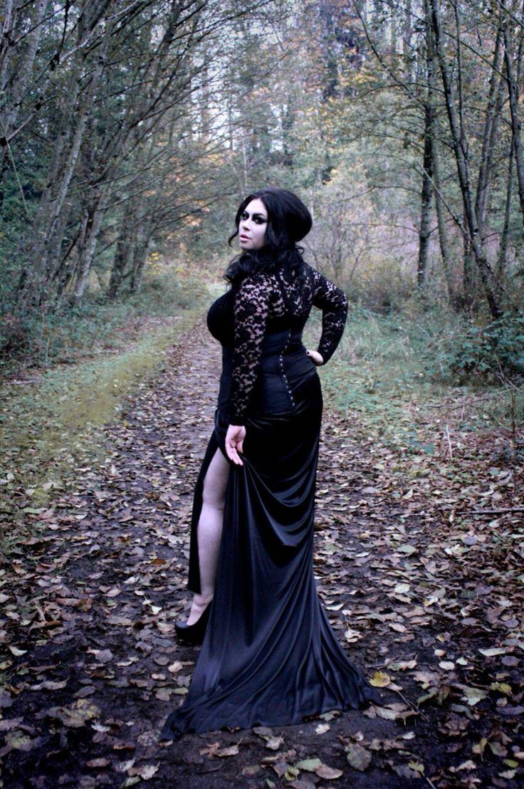 Gothic photoshoot