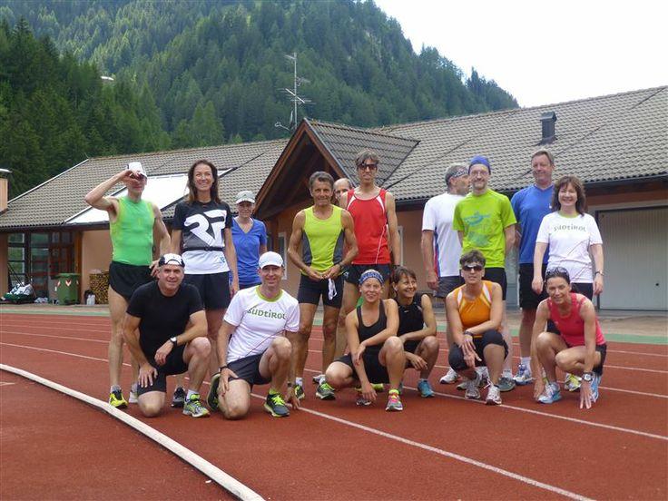 Settimana della corsa/allenamento in pista -  Laufwoche/Bahntraining