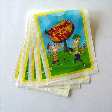 Bolsas Phineas y Ferb - Artículos de Fiesta