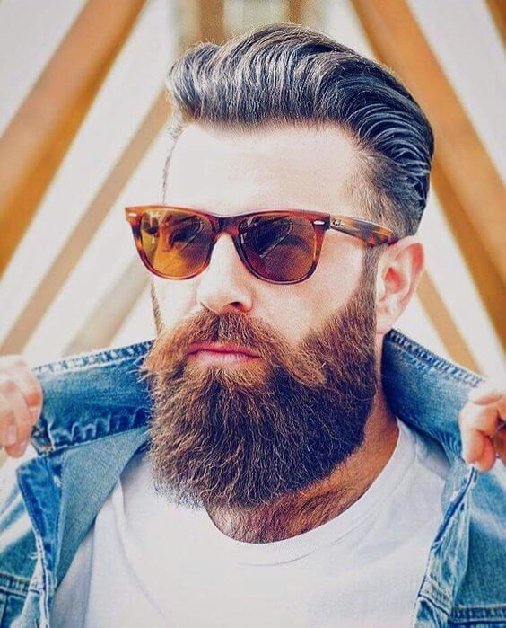 Excellent 1000 Ideas About Long Beard Styles On Pinterest Handlebar Short Hairstyles Gunalazisus